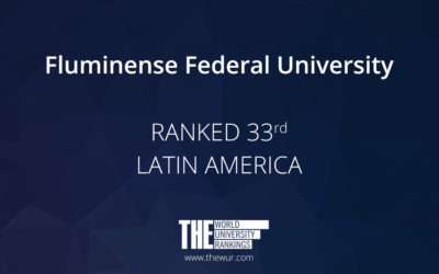 UFF stands out in ranking and reaches the 33rd position in Latin America