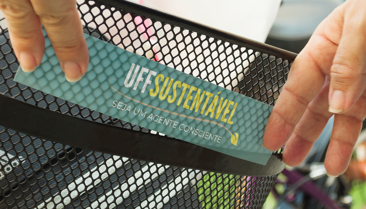 Logo do UFF Sustentável