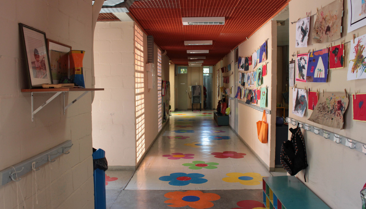 Corridor at UFF Day Care